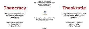 Vedecká konferencia o Teokracii