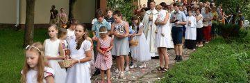 Slávnosť sv. Rozálie za účasti detí